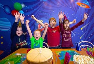 Narozeninová oslava v zábavním parku BRuNO